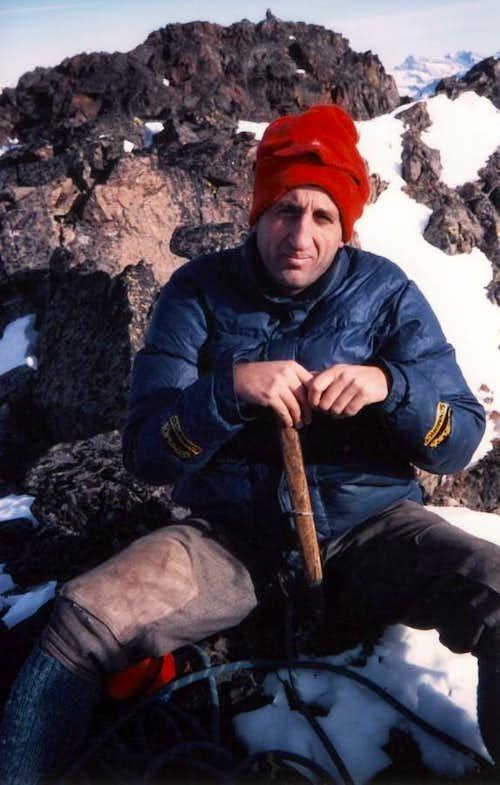 Tsaat a l' Et First Winter on Western Summit 1985