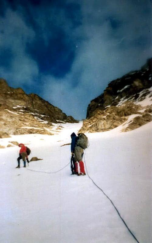 Tsaat a l' Etsena First Winter on Eastern Top 1974