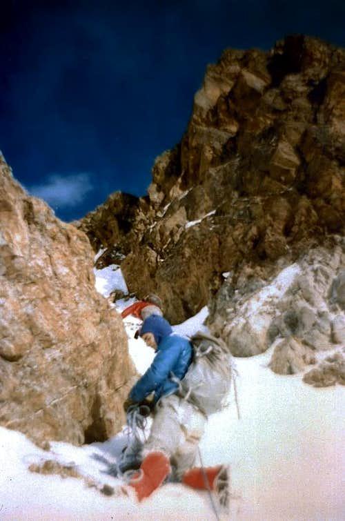 Tsaat a l' Et First Winter on Eastern Summit 1974