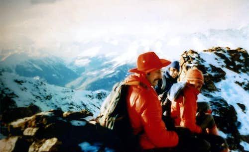 Tsaat a l'Etsena First Winter on Eastern Summit 1974