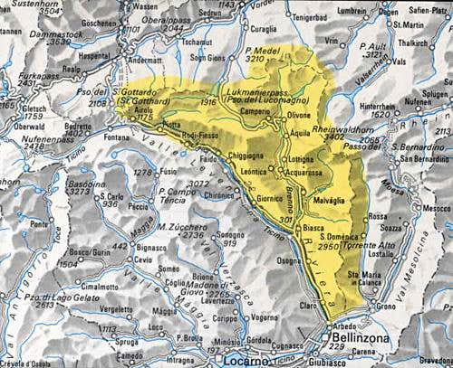 Overview map of eastern...