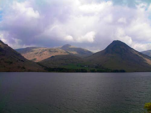 Yewbarrow and Wast Water