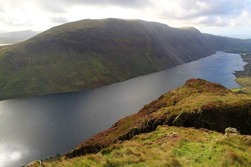 Wastwater and The Screes from Yewbarrow