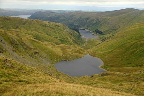 View down to Mardale and Small Water