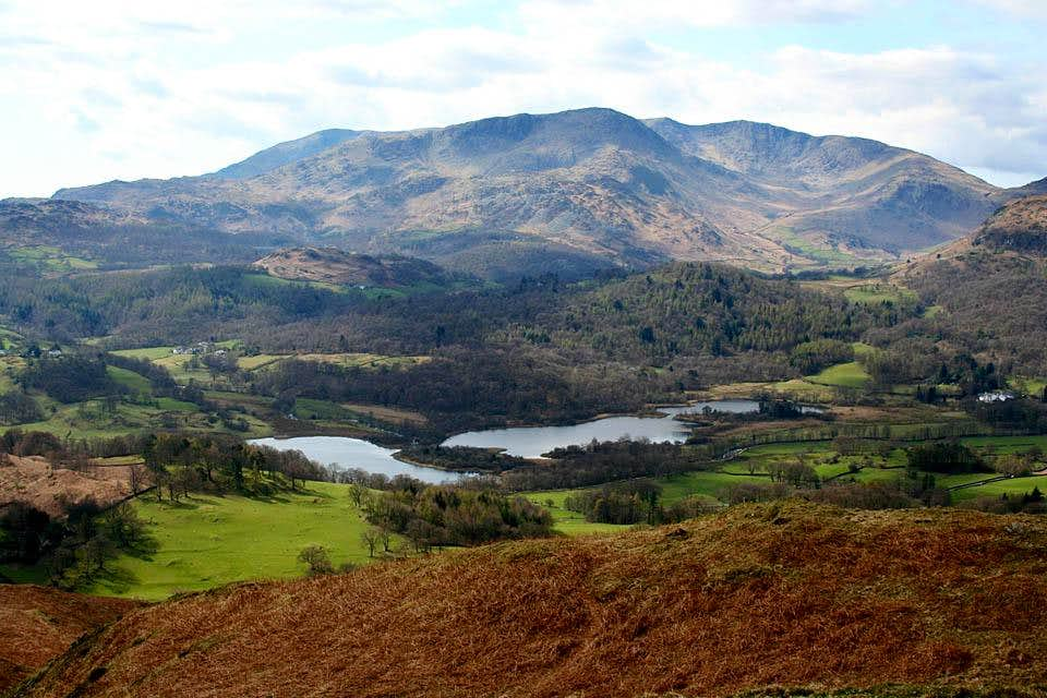 Wetherlam and Elterwater