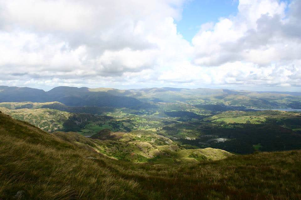 East from Wetherlam