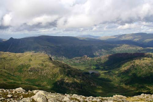 North from Wetherlam