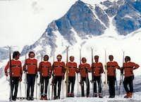 The ski instructors.