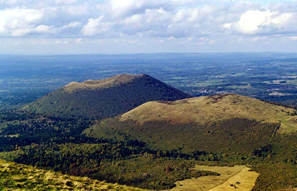 View from Puy de Dôme