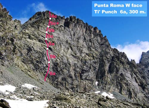 Punta Roma - Ti' Punch topo