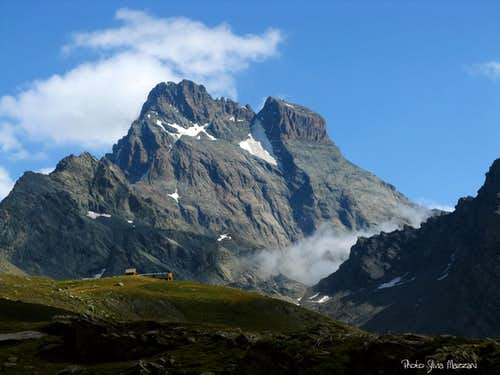 Monte Viso West face and Refuge du Viso