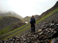 Hiking to Raven Glacier
