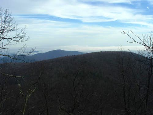 Looking East from Lewis Mountain