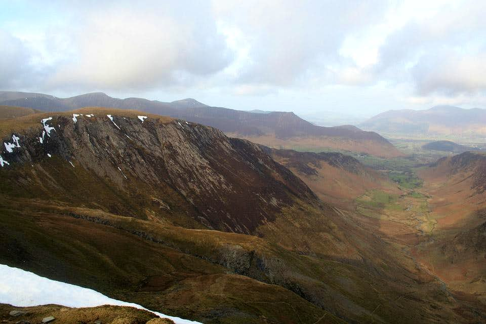 Hindscarth and the Newlands Valley - Dale Head