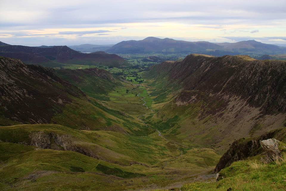 Newlands from Dale Head