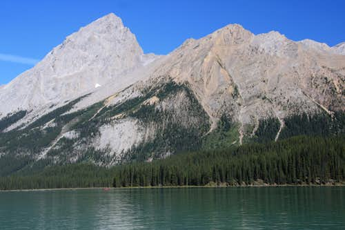 Samson Peak, Maligne Lake