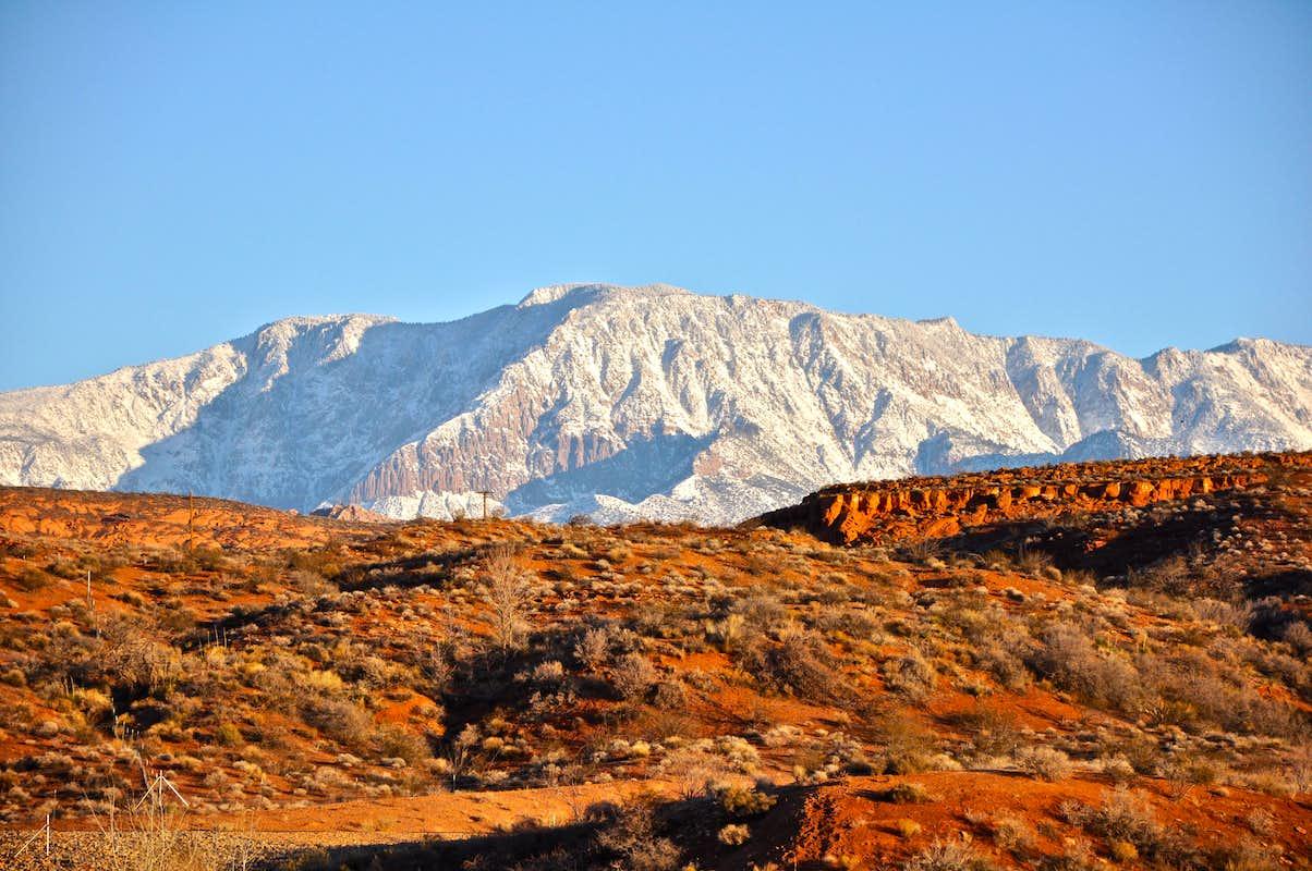 Pine Valley Mountains... : Photos, Diagrams & Topos ...