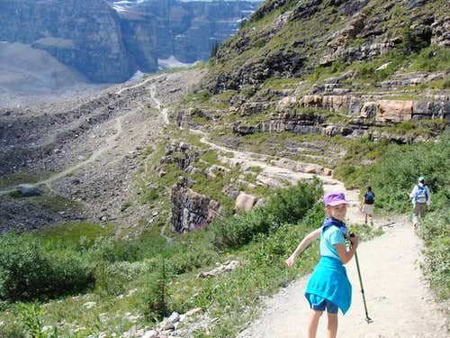 Hike to the Plain of Six Glaciers Teahouse