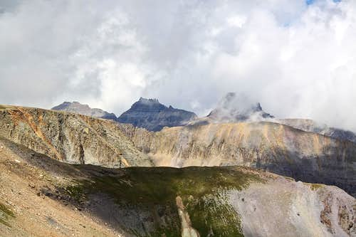 View towards Yankee Boy Basin