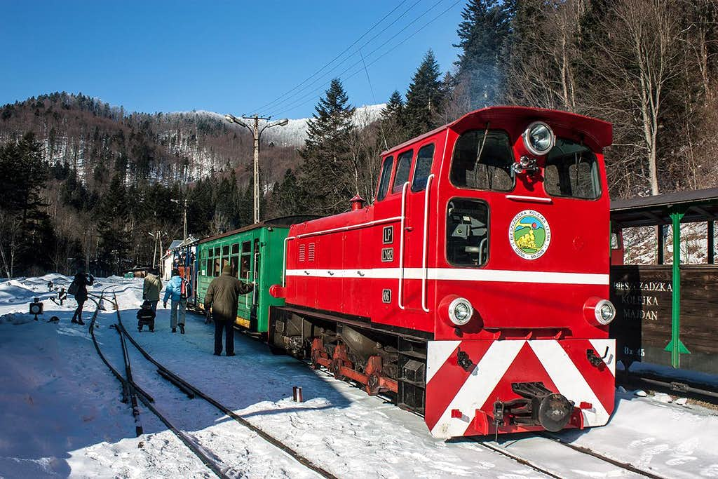 Bieszczady forest railway