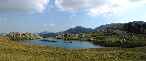 Another tarn on the summit ridge between Allen Crags and Glaramara