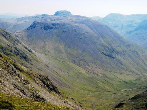 Kirk Fell, and Great Gable behind, from Scoat Fell
