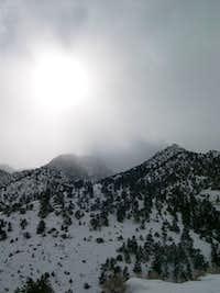 Winter near Mount Whitney