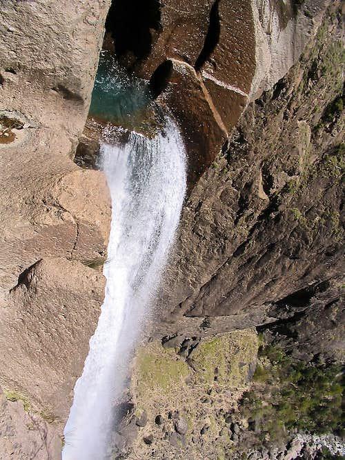 The top of Basaseachic Falls