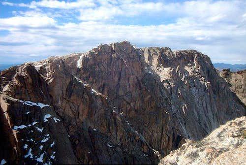 The East Aspect of Powell Peak