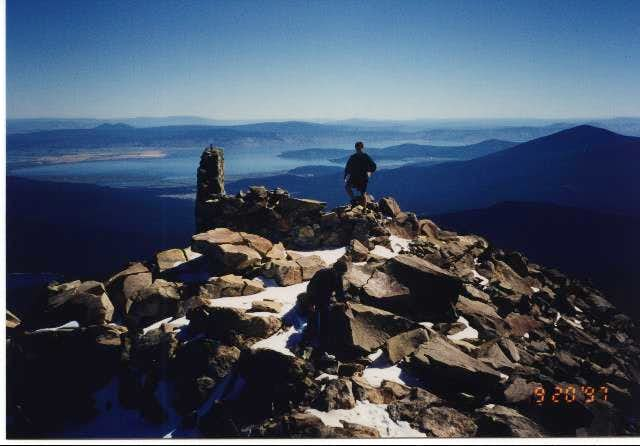 Rory on the summit with...