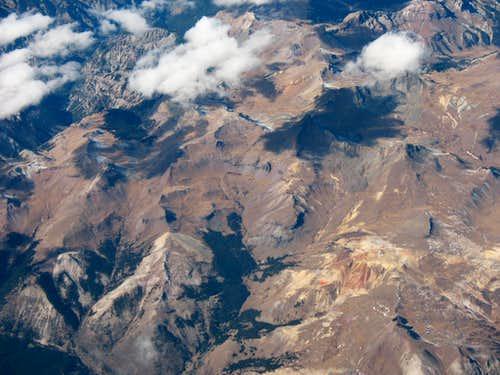 Wetterhorn from the sky