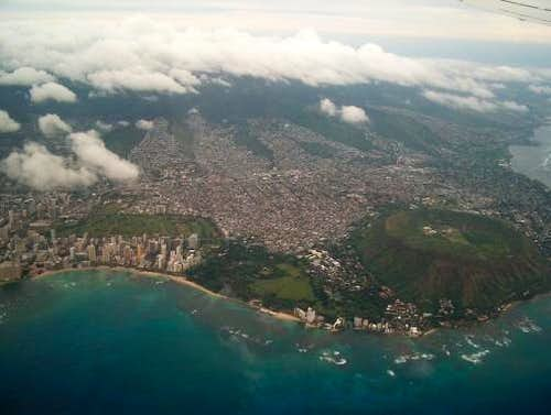 Diamond Head viewed from the...