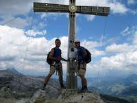 Summit of Sassongher (2665 m)