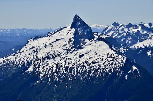 Sloan Peak Solo - Corkscrew Route