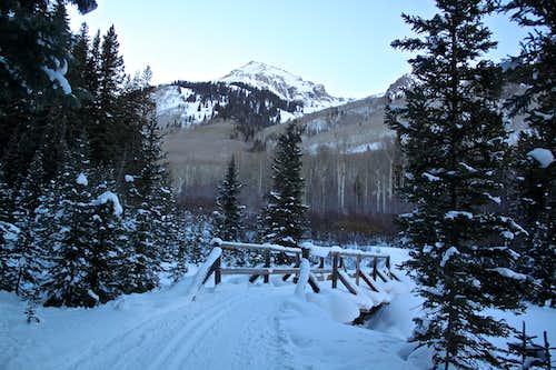 View of Hayden Mountain