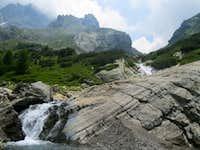 At 1862 m the lago del Barbellino