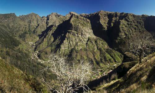 Madeira's central range