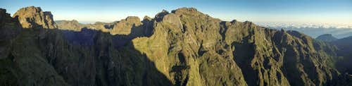 Madeira\'s Central Mountain Range