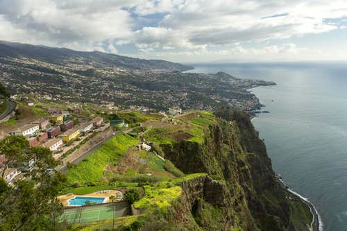 Funchal and Camara dos Lobos