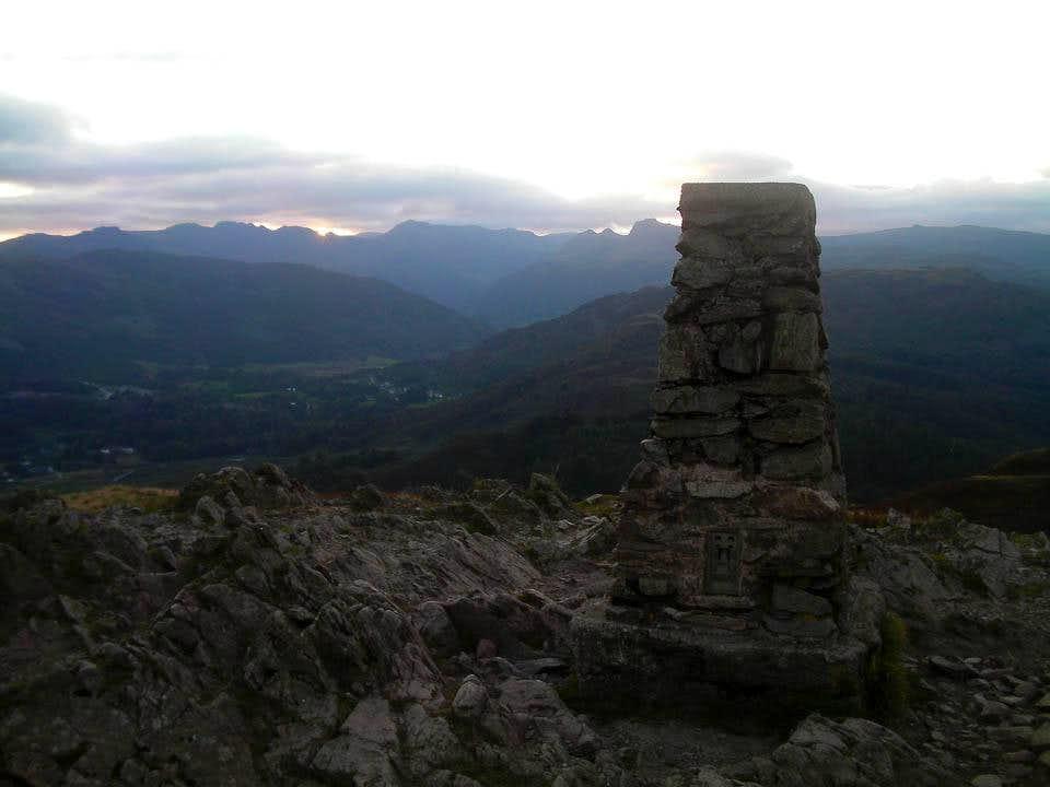 Loughrigg Fell Summit
