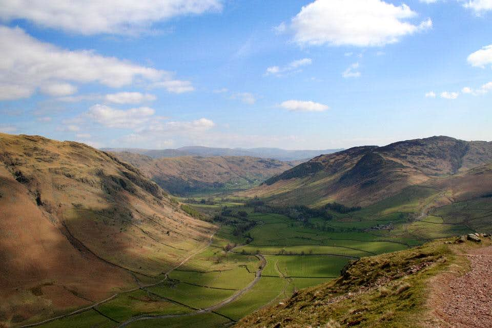 Great Langdale from The Band - Bowfell