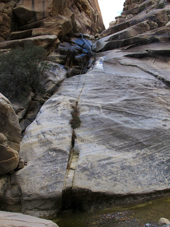 Waterfall in Black Velvet Canyon