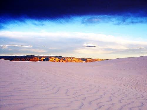White Sands Cloud