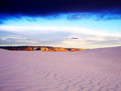 White Sands Cloud