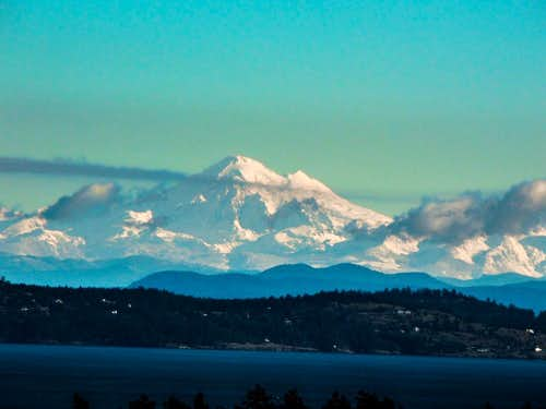 Mount Baker from Victoria, BC