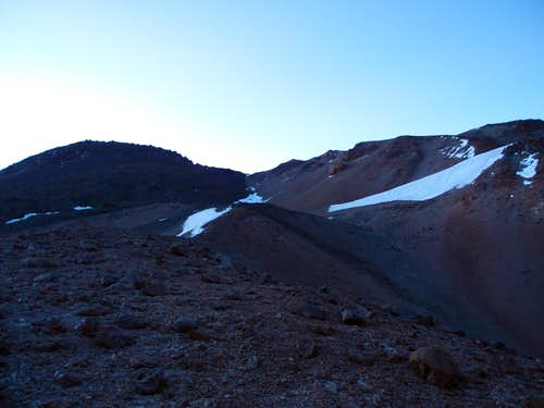 Begining of the climb