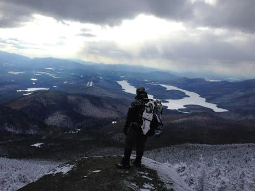 Lake Placid from Whiteface Mtn.