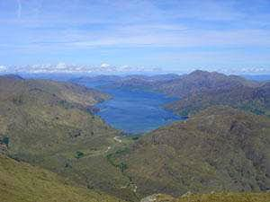 Loch Hourn from Sgurr a\'Choire bheithe