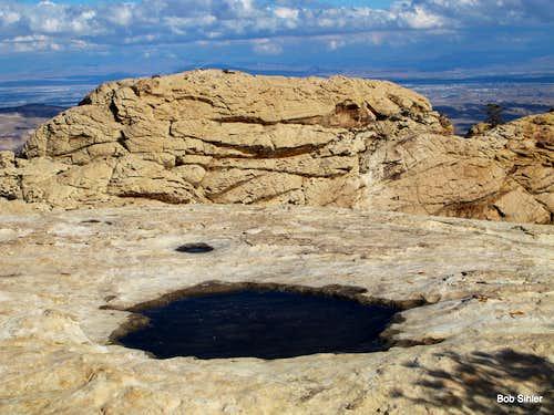 The Monument from Hidden Peak