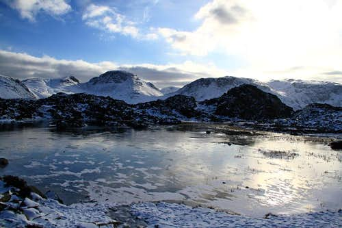 Great Gable and Innominate Tarn